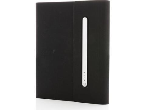 5000 mAh power notebook A5 met draadloos opladen