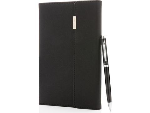 Set carnet de notes A5 et stylo Swiss Peak
