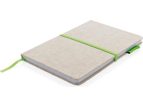 Eco jute notitieboek