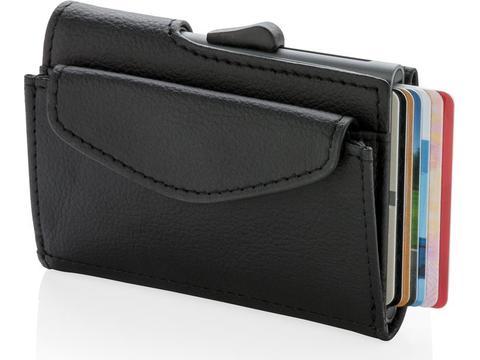 C-Secure RFID cardholder & coin/key wallet