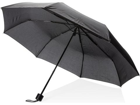 "21"" manual open umbrella with tote bag"