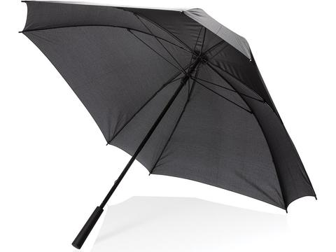 "27"" manual XL logo space square umbrella"