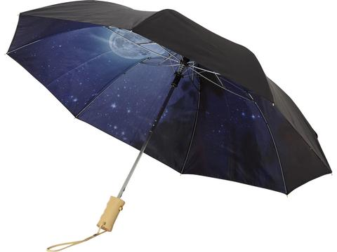 21'' Clear night sky 2-section automatic umbrella