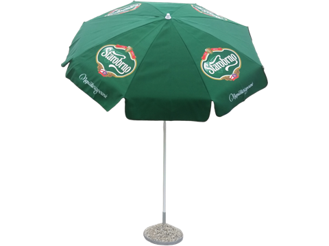 Custom made beach umbrella