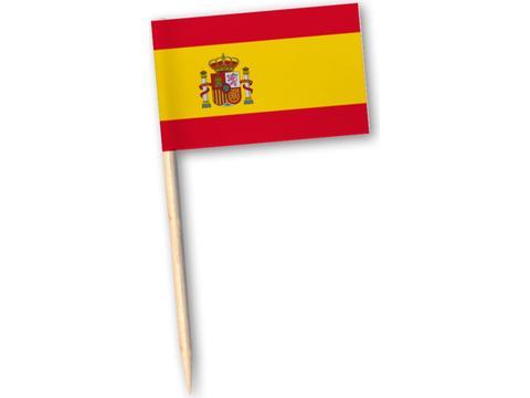 Partyprikkers landenvlaggen