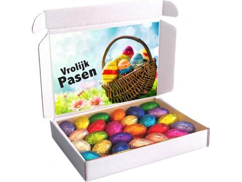 Boîte d'expédition Pâques 250g avec oeufs de Pâques
