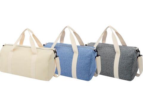 Pheebs duffel bag van gerecycled katoen en polyester