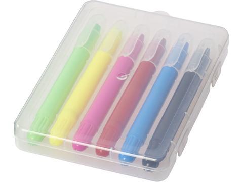 Phiz Retractable Crayons