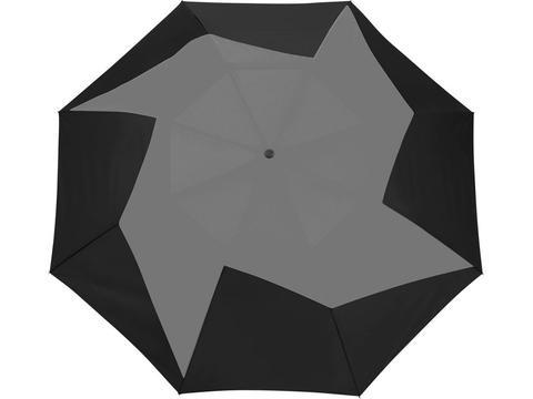 Pinwheel parapluie ouverture automatique 2 sections 23''