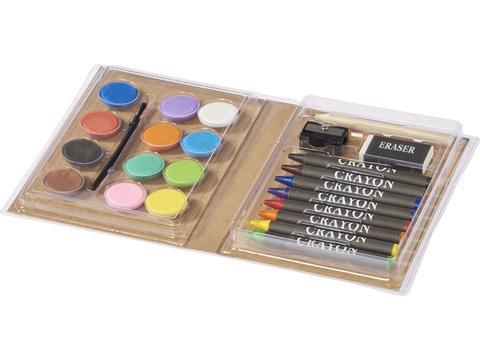 Piza Colouring Set