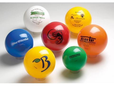 Plastic ballen - 10 cm