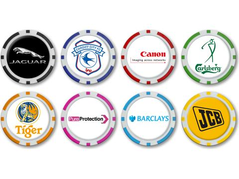 Poker Chip Ballmarkers