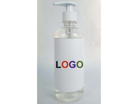 Pompflacon met Triclosan zeep - 500 ml