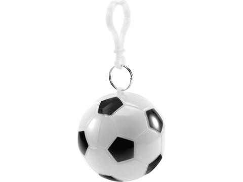 Poncho in plastic football