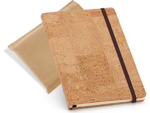 Portel notitieboekje verpakt in hoesje