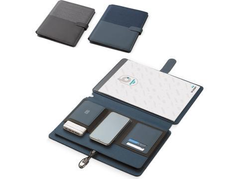 Portefeuille A4 avec Chargeur Sans Fil 5W