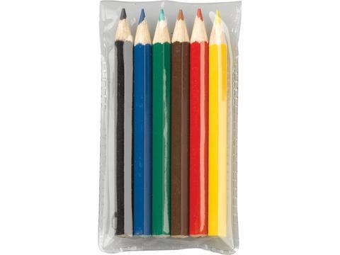 Pochette crayons de couleurs