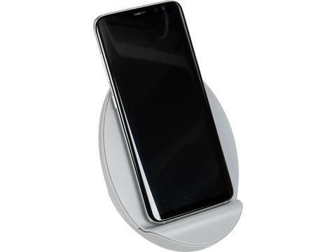 Power Stand telefoonhouder met speaker en draadloos opladen