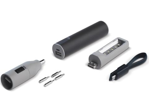 Powerbank 3-in-1 Tool - 2200mAh