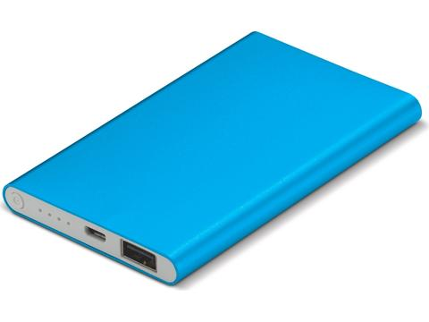 Powerbank slim - 4000 mAh