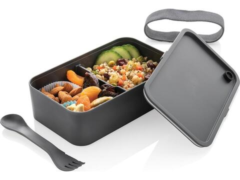 Stijlvolle lunchbox met spork - geschikt voor magnetron