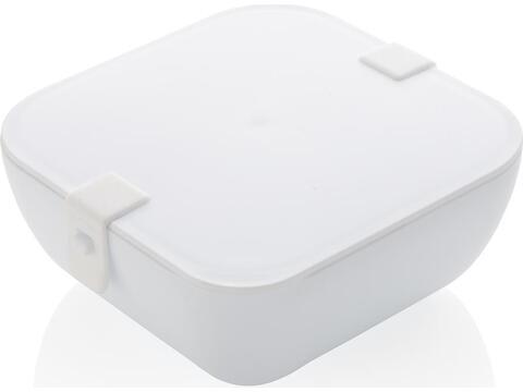 Praktische lunchbox  in vierkante vorm