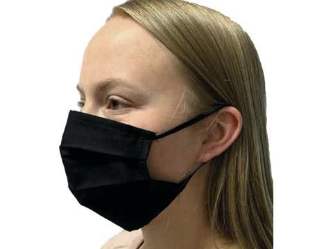 Premium Mondmasker uit katoen 2 lagen + opening voor filter