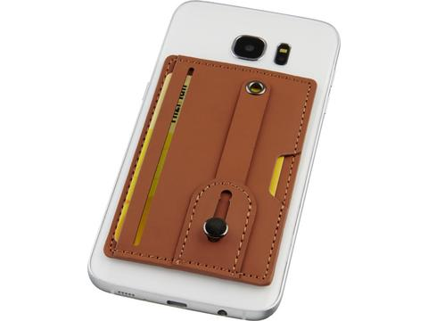 Prime RFID phone wallet with strap