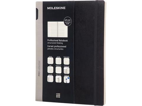 Moleskine Pro notebook XL soft cover