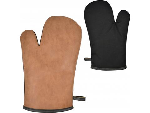 Oven Mitt PU Cotton