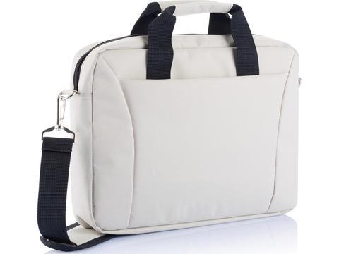 PVC vrije 15,4 inch exhibition laptop tas