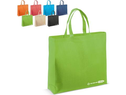 R-PET bag color - 40x30x15cm