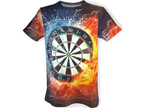 Reactive printed T-shirt