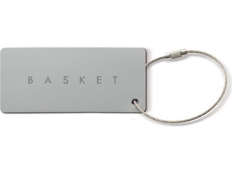 Alu Luggage Tag Rectangle