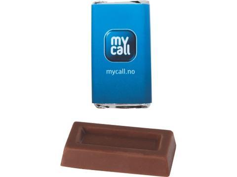 Rechthoekige Napolitain chocolade