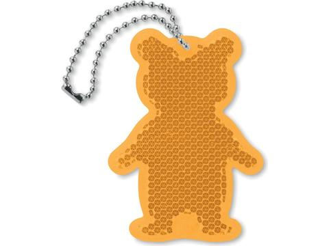 Reflector in bear shape