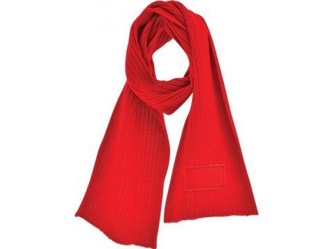 Retro gebreide sjaal