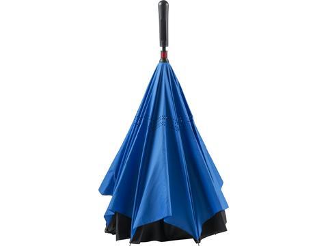 Parapluie réversible en soie pongée - Ø105 cm