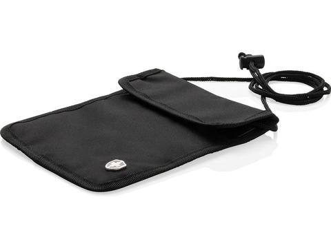 Swiss Peak RFID anti-theft neck pouch