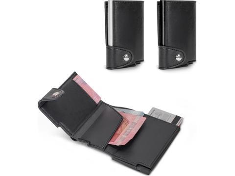 RFID Kaarthouder met Leerlook Hoes