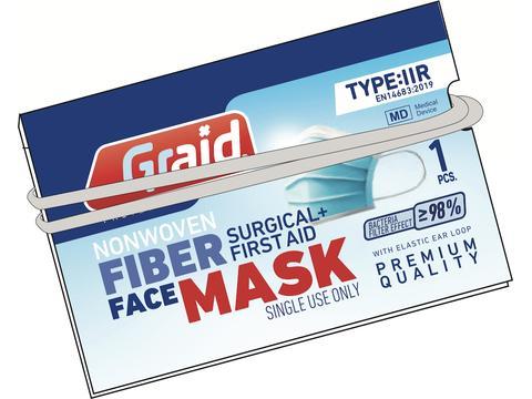 RFX Care Chirurgisch Mondmasker in gepersonaliseerde verpakking - Hygiënisch per stuk verpakt