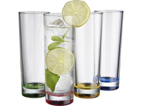 Set de 4 verres.