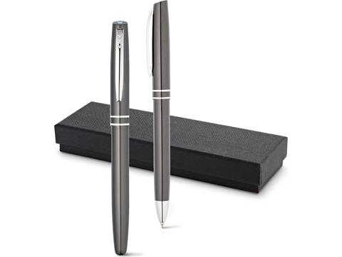 Aluminium roller and ballpen set