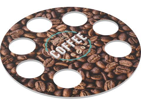 Ronde koffiebeker houder