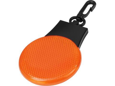 Ronde reflector met lampje