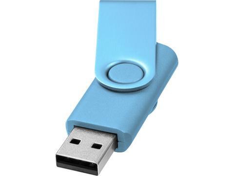 Rotate metallic USB - 2GB