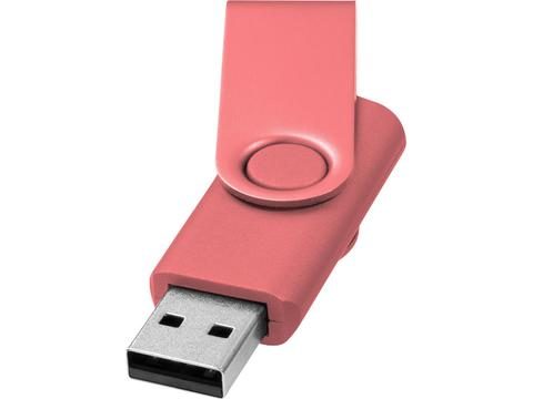Rotate metallic USB - 4GB