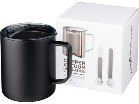 Mug 420 ml avec isolation par le vide et couche de cuivre Rover