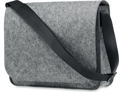 RPET felt messenger or laptop bag
