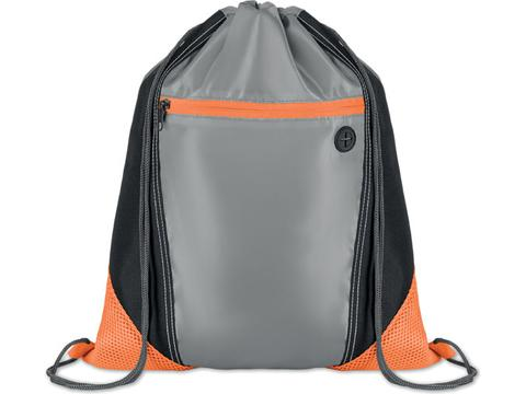 Drawstring bag Shoop Grey